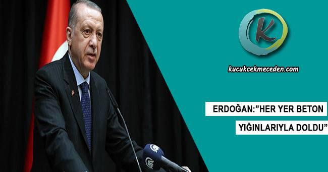 Erdoğan'dan Millet Bahçesi Açıklaması