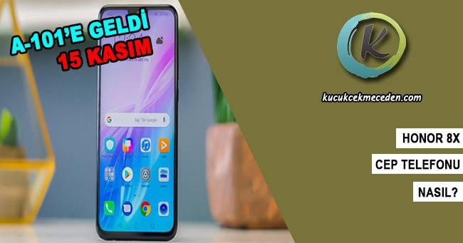 A101'e Gelen Honor 8X Cep Telefonu