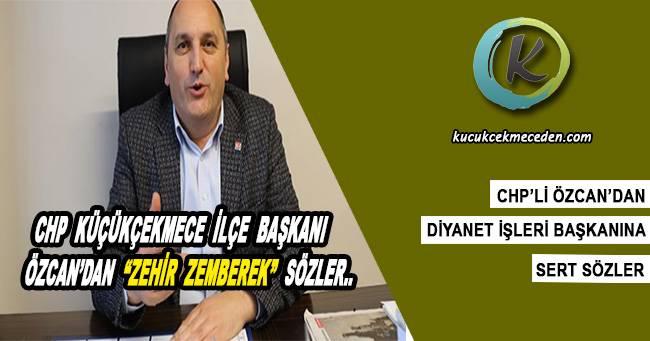 CHP'li Turgay Özcan'dan