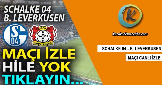 Schalke Leverkusen Maçı Canlı