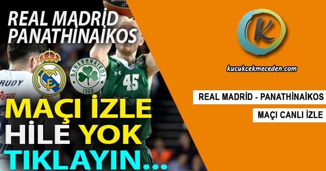 Real Madrid Panathinaikos Maçı Canlı