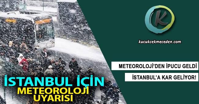 İstanbul'da Şiddetli Kar Yağışı