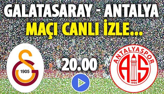 Galatasaray Antalya Canlı İzle