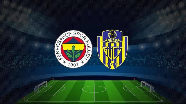 Ankaragücü Fenerbahçe canlı izle